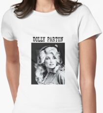 Dolly Parton Shirt Womens Fitted T-Shirt