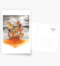 Bacon Kraken Postcards