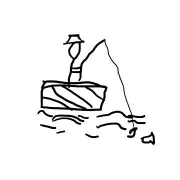 STICK FISHERMAN by CullBot