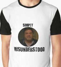 Howard - Simply Misunderstood - Cloverfield Lane Graphic T-Shirt