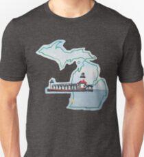 Michigan Pride Lighthouse Unisex T-Shirt