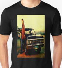 supernatural tv dean baby impala fan art Unisex T-Shirt