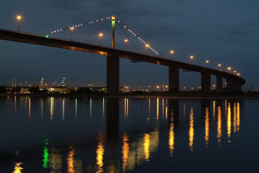 « Joe Mortelliti Gallery - West Gate Bridge, Melbourne, Victoria, Australia. » par thisisaustralia