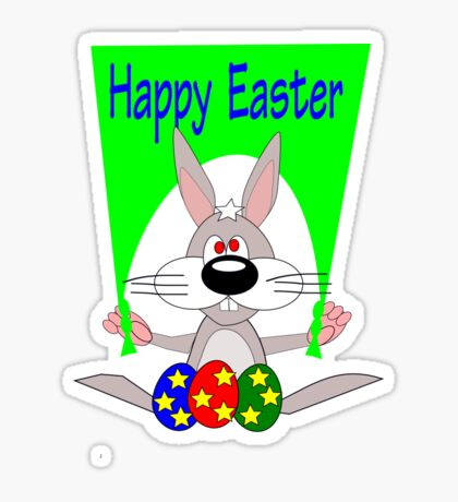Happy Easter (5251 Views) Sticker