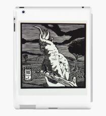 Sulphur-crested Cockatoo iPad Case/Skin