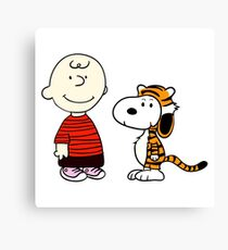 Peanuts Meets Canvas Print