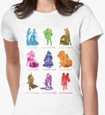 Jeder ist eine Prinzessin Tailliertes T-Shirt