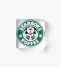 Starboks Koffee Acrylblock