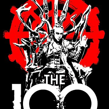 The 100 Lexa Symbol by luxart