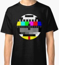 90's TV Test pattern Classic T-Shirt