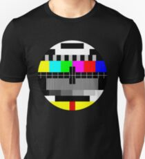 90's TV Test pattern Unisex T-Shirt