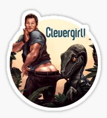 Clever Girl! Sticker