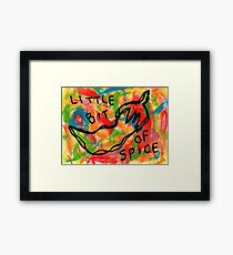 Life Is Spicy Sometimes Framed Print