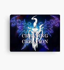 Pokemon-Creating Creation  Canvas Print