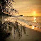 Sunset bliss on Moreton Island by Keiran Lusk