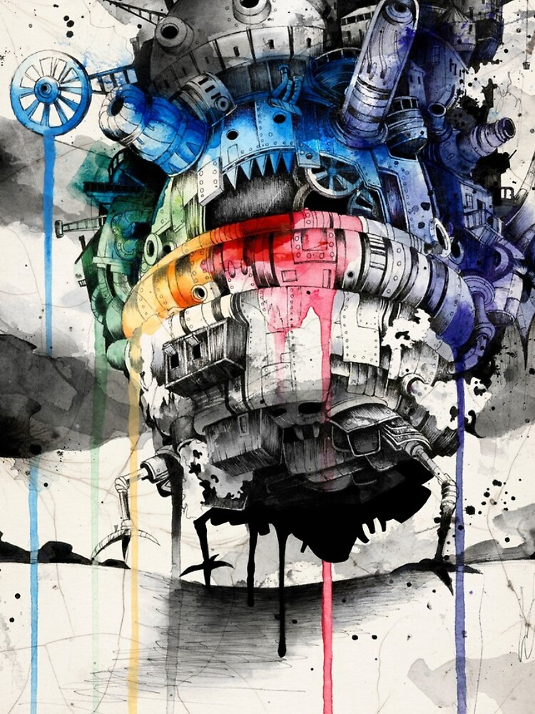 Howl's Moving Castle by sandraink