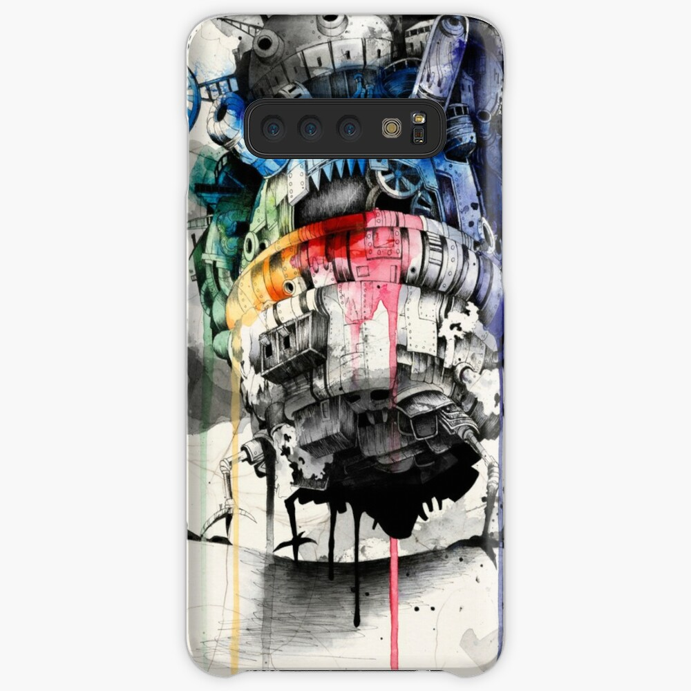 Howl's Moving Castle Case & Skin for Samsung Galaxy