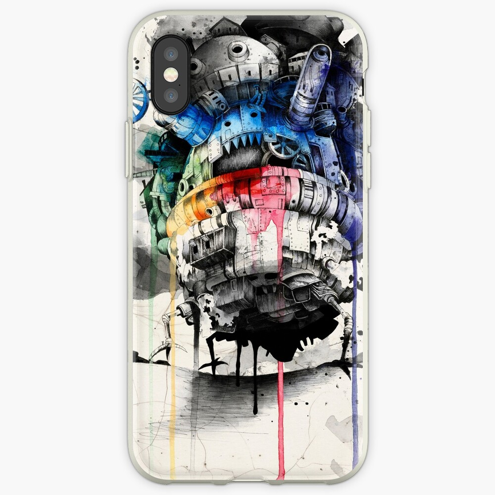 Howl's Moving Castle iPhone Cases & Covers