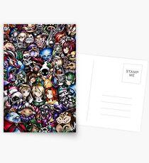 The Legend of Zelda Postcards