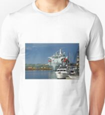 RFA Argus at Falmouth Docks Unisex T-Shirt