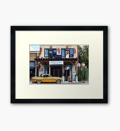 Moody Auto Parts, Inc. Framed Print