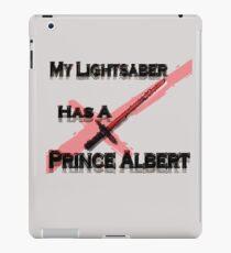 My Lightsaber has a Prince Albert iPad Case/Skin