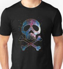 Space Pirate, Skull, Crossbones, Captain, Bone, Anime, Comic T-Shirt