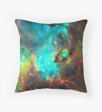 Galaxy / Seahorse / Large Magellanic Cloud / Tarantula Nebula Throw Pillow