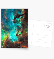 Galaxy / Seahorse / Large Magellanic Cloud / Tarantula Nebula Postcards