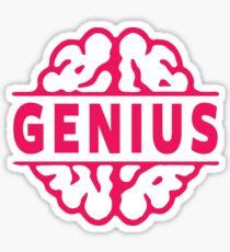 Genius Sticker