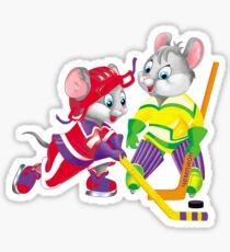 hockey Sticker