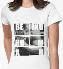 Salman: Being Human Women's Fitted T-Shirt