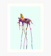 Lámina artística Dali Elephant