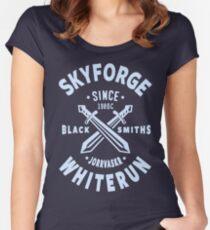 Skyforge Whiterun Women's Fitted Scoop T-Shirt