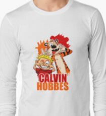 Calvin and Hobbes Time Long Sleeve T-Shirt