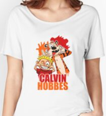 Calvin and Hobbes Time Women's Relaxed Fit T-Shirt