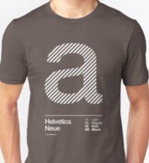 a .... Helvetica Neue Slim Fit T-Shirt