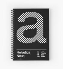 a .... Helvetica Neue Spiral Notebook
