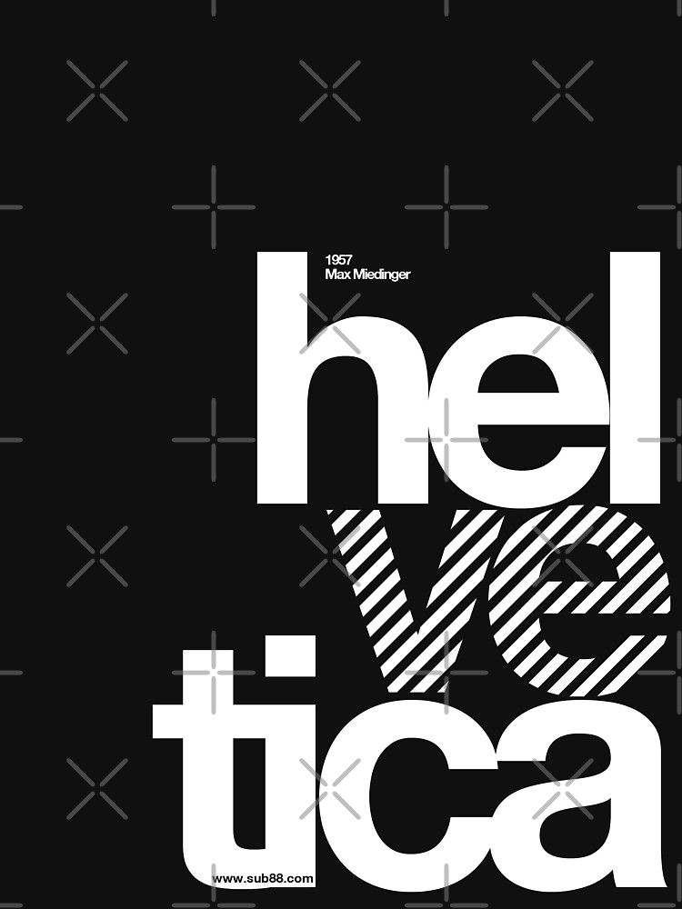 Hel ve tica .... by sub88