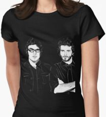 FOTC Transparent and White Womens Fitted T-Shirt