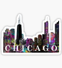Chicago in Graffiti Sticker