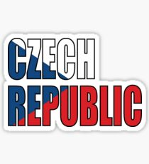 Czech Republic Sticker