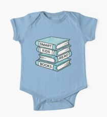 Smart Kids Read Books - book lover gift inspirational quote One Piece - Short Sleeve