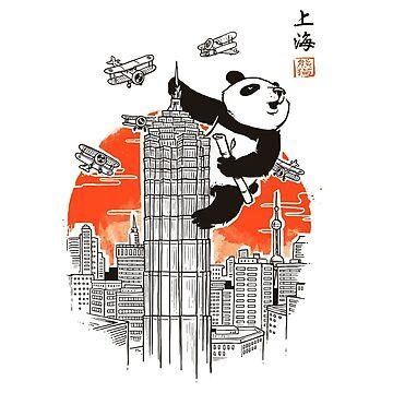 Meanwhile in Shanghai Shirt by nachaompunx