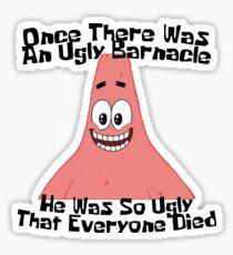 The Ugly Barnacle - Spongebob Sticker