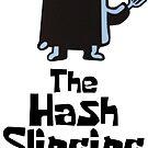 Der Hash Slinging Slasher! (Schwarzer Text) - Spongebob von LagginPotato64