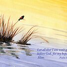 Prayer and Hope- Psalm 62:5 by Diane Hall