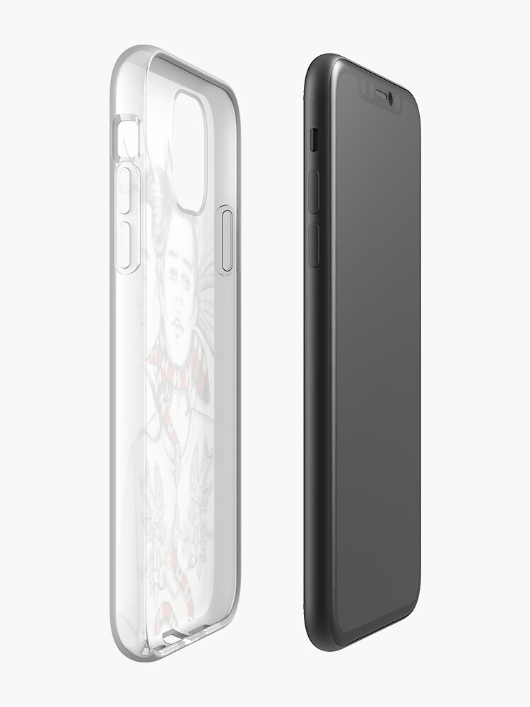 orange coque iphone | Coque iPhone « Obsession », par illustrart