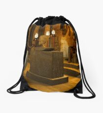 Queen Nefertiti's Bust Drawstring Bag