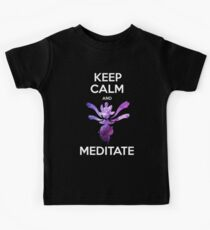 Keep Calm and Medicham! Kids Clothes